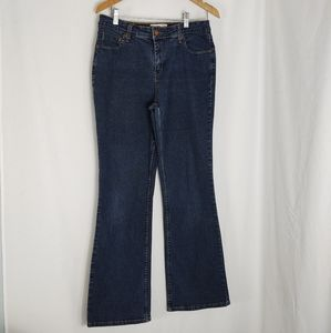 Levi Strauss Signature Jeans At Waist Bootcut